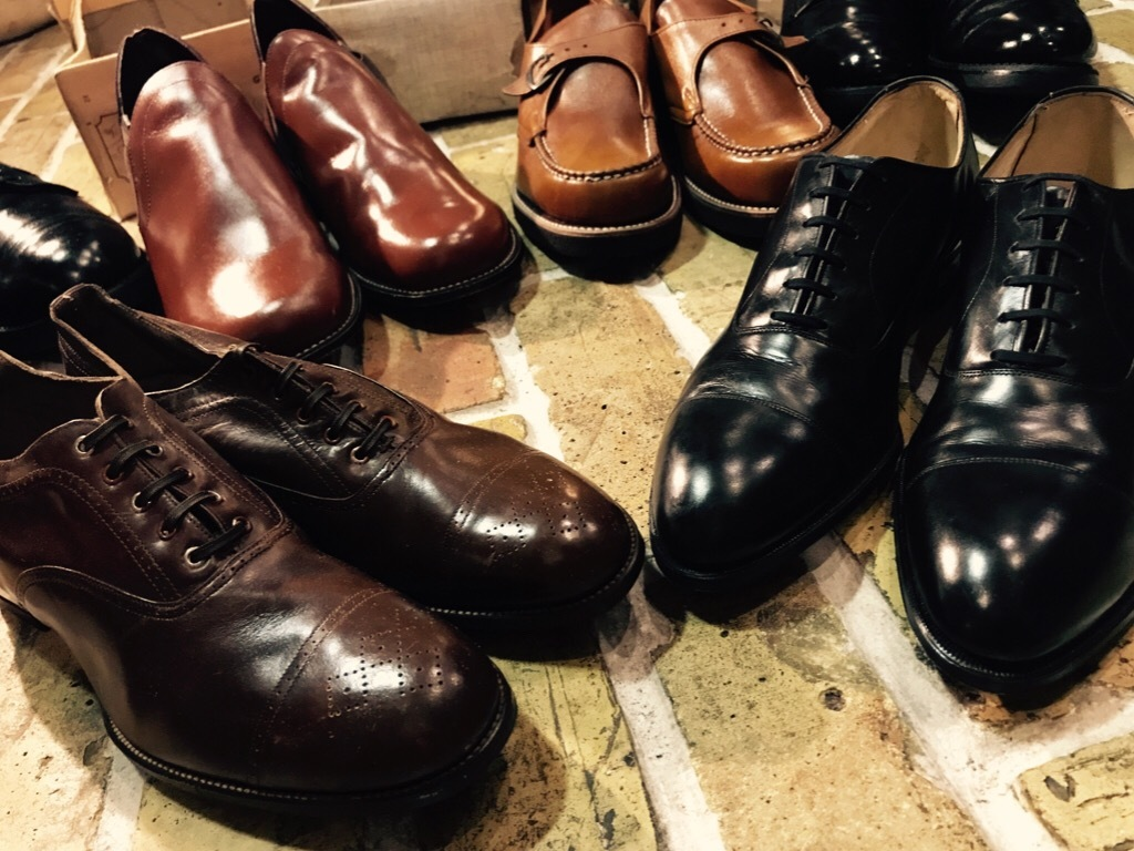 神戸店7/4(水)Vintage&Superior入荷! #6 Vintage Leather Shoes!!!_c0078587_18403833.jpg