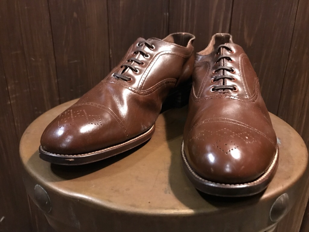 神戸店7/4(水)Vintage&Superior入荷! #6 Vintage Leather Shoes!!!_c0078587_18454730.jpg
