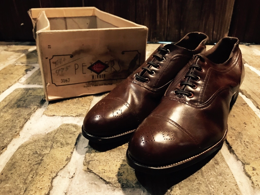 神戸店7/4(水)Vintage&Superior入荷! #6 Vintage Leather Shoes!!!_c0078587_18454771.jpg
