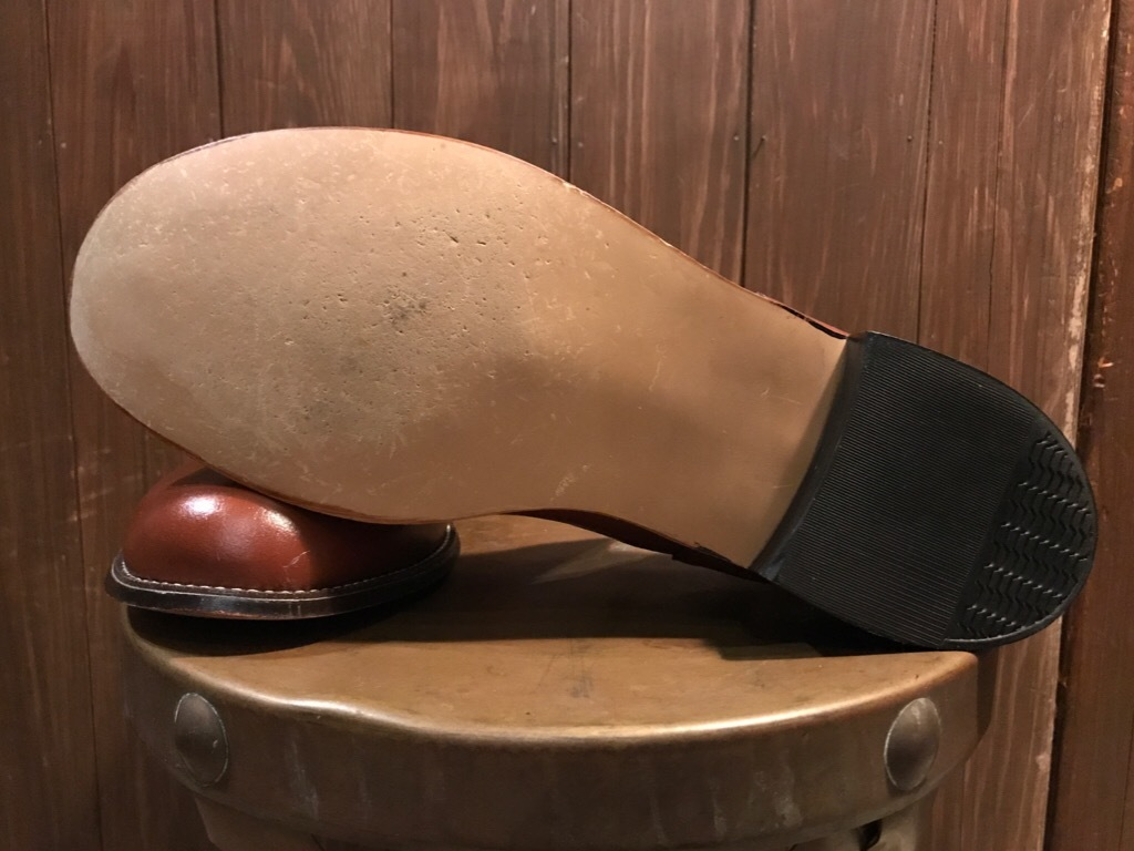 神戸店7/4(水)Vintage&Superior入荷! #6 Vintage Leather Shoes!!!_c0078587_18495979.jpg