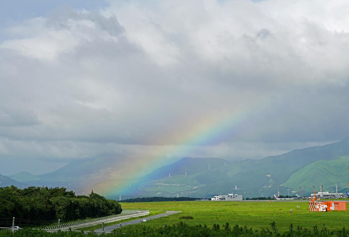 虹が出た~♪_b0044115_08572661.jpg