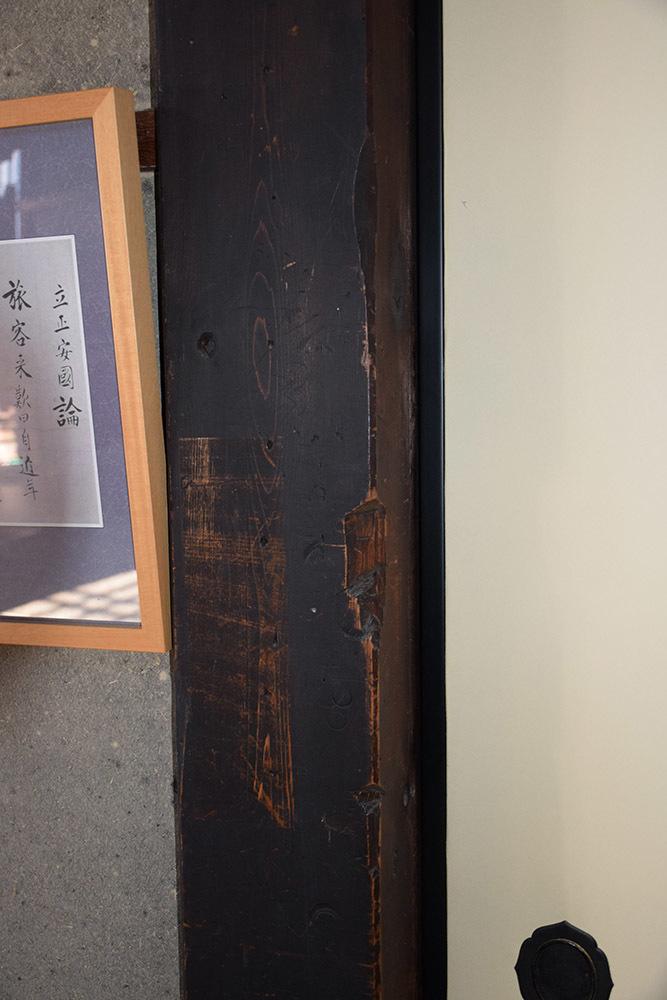 幕末京都逍遥 その99 「妙蓮寺(禁門の変時の刀傷)」_e0158128_22104053.jpg