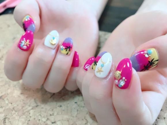 Hawaii Nail_a0239065_16421620.jpg