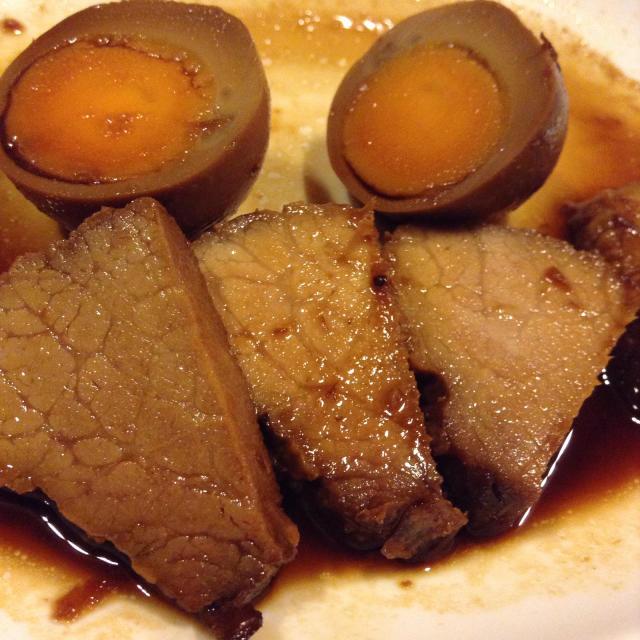 自作焼豚を肴にひとりリハーサル。_a0334793_00411820.jpg