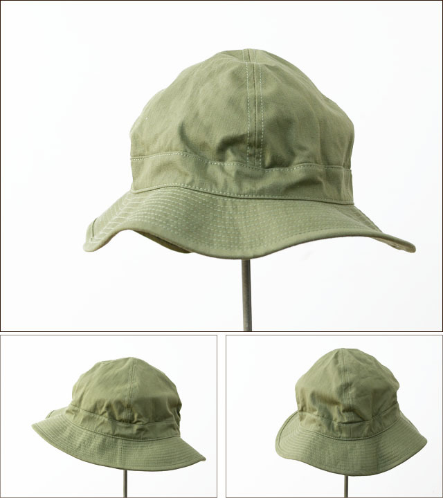 orslow[オアスロウ] US ARMY HAT GREEN WITH EYELET [03-001-16A] ユーエスアーミーハット MEN\'S/LADY\'S_f0051306_09185306.jpg