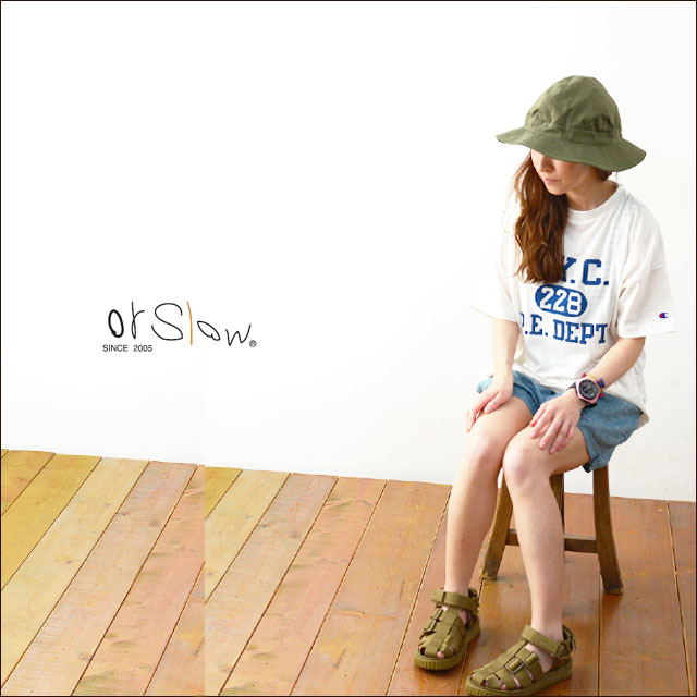 orslow[オアスロウ] US ARMY HAT GREEN WITH EYELET [03-001-16A] ユーエスアーミーハット MEN\'S/LADY\'S_f0051306_09185631.jpg