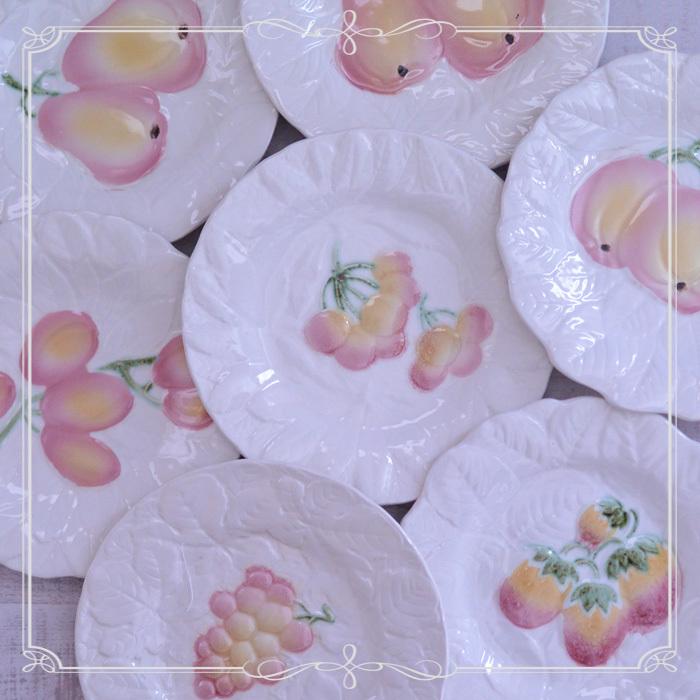 ◆フランスアンティーク*旬なさくらんぼも♪果物のバルボティーヌ_f0251032_11175641.jpg