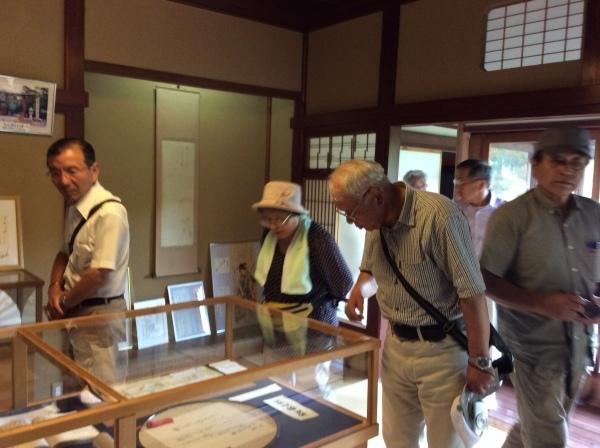栃木県からの「おくのほそ道」を訪ねての御客様_f0289632_06382870.jpg