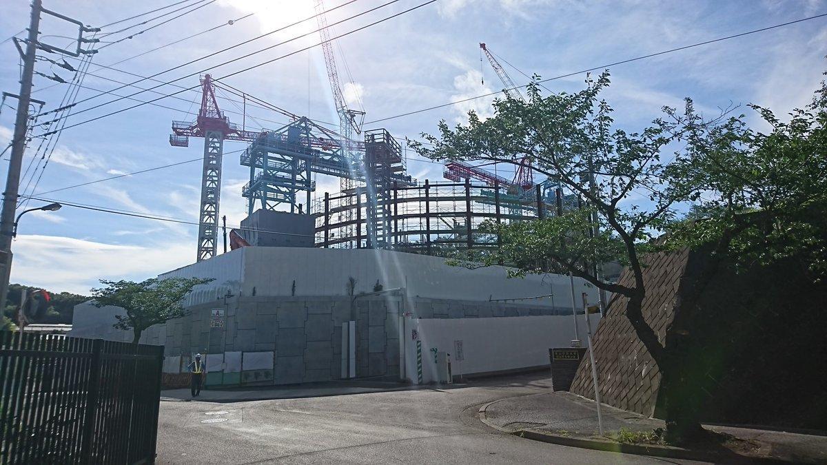 リニア中央新幹線 町田市小野路非常口に円形の構造物が出現?_a0332275_01105354.jpg