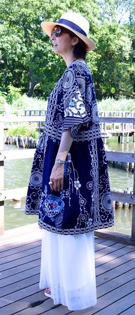 新作サック・ドレス「芽郁(めい)1号」年齢を重ねても大丈夫〜♡_f0170519_174868.jpg