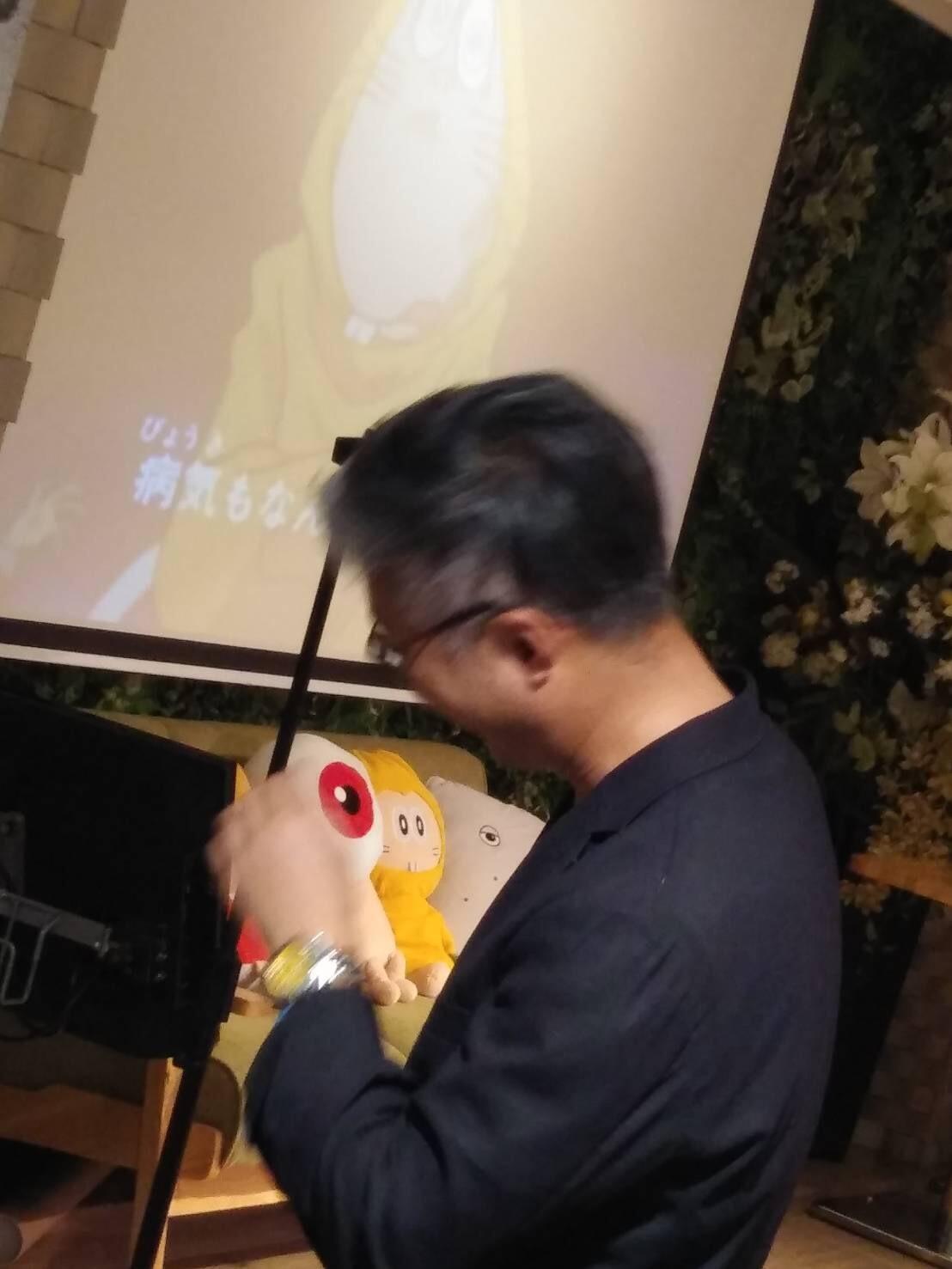 「ゲゲゲの鬼太郎」中入りパーティ_a0163623_20394762.jpg