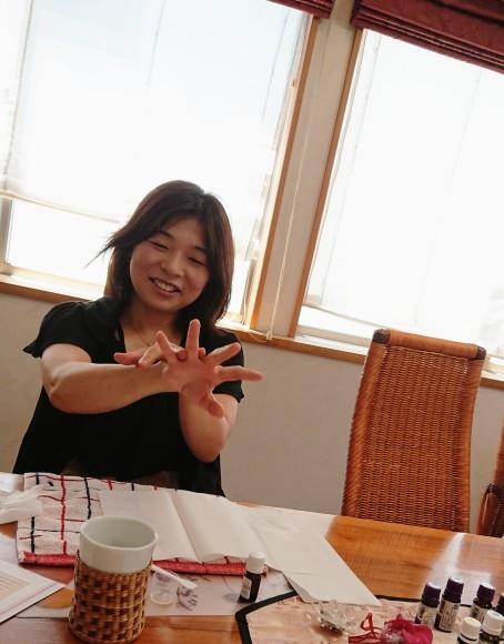 【優茶会 Vol.5  セルフマッサージと アロマ】  ☆  感 謝_a0349374_13292154.jpg