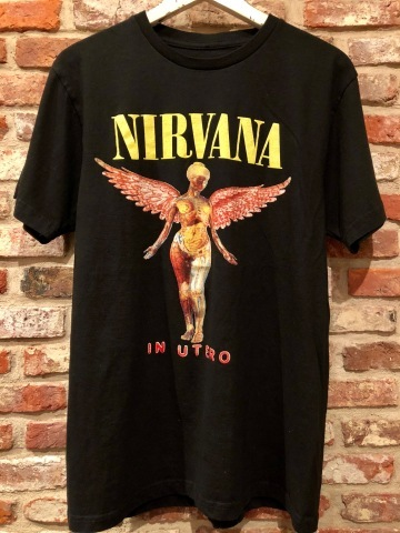 "Late 1990s \"" NIRVANA \"" 100% cotton VINTAGE ROCK Tee SHIRTS ._d0172088_17223299.jpg"