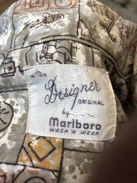 7月7日(土)入荷!60s Marlboro all cotton  ボックス 開襟シャツ!_c0144020_15022767.jpg