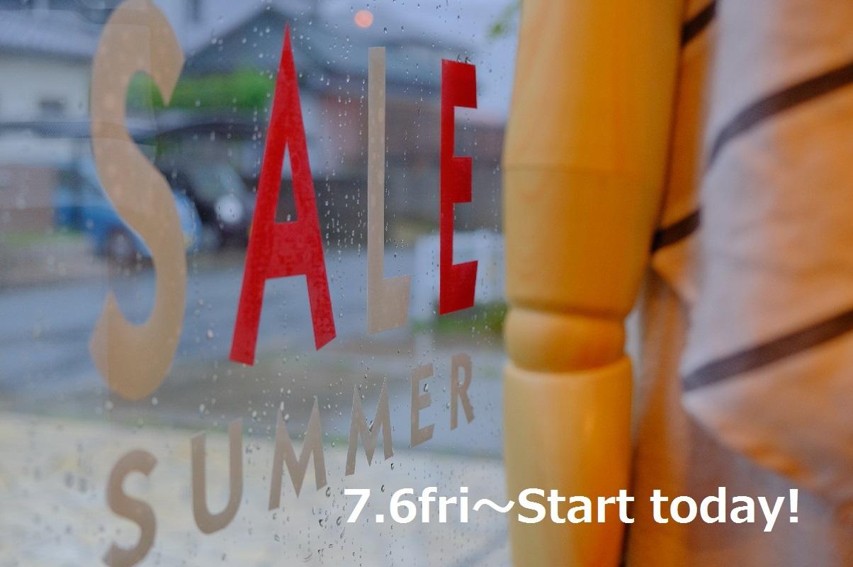 """2018 Summer SALE 本日スタート!...7/6fri\""_d0153941_16583905.jpg"