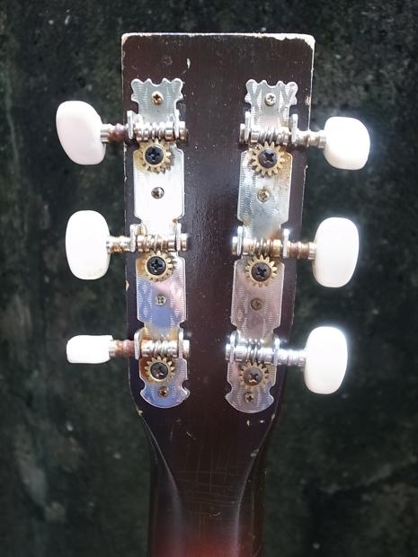 1940'S LYRA Parlor Guitar C.bruno&son by Harmony1940年代ライラ・パーラーギターBYハーモニー_f0197703_14454836.jpg