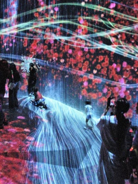 東京散歩 迎賓館 & お台場 デジタルアート・ミュージアム(チームラボ)_d0150720_06185832.jpg