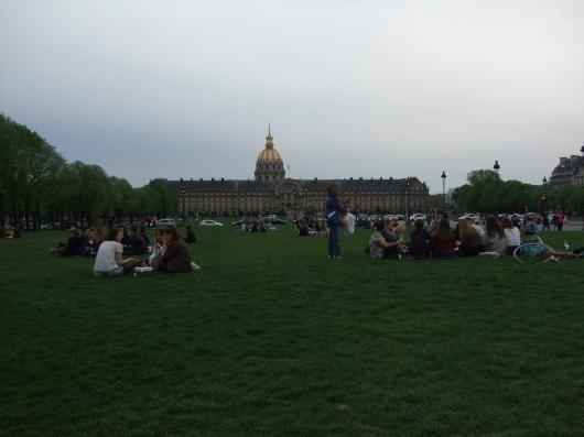 2015年 Paris でラストディナー💙_e0303431_16010348.jpg