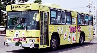 弘南バス 日野P-HT233BA +日野車体_e0030537_22035467.jpg