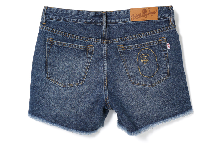APE HEAD DENIM SHORTS_a0174495_16054861.jpg