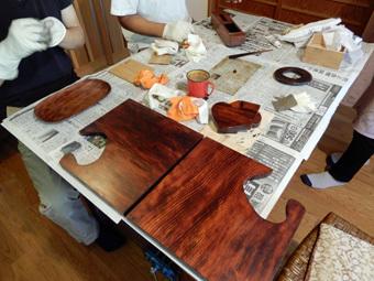北鎌倉の家・漆塗り教室・その4_c0195909_13421537.jpg