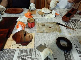 北鎌倉の家・漆塗り教室・その4_c0195909_13421949.jpg