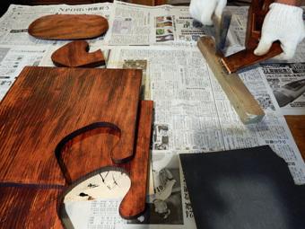 北鎌倉の家・漆塗り教室・その4_c0195909_13422421.jpg