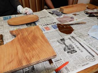 北鎌倉の家・漆塗り教室・その4_c0195909_13425972.jpg