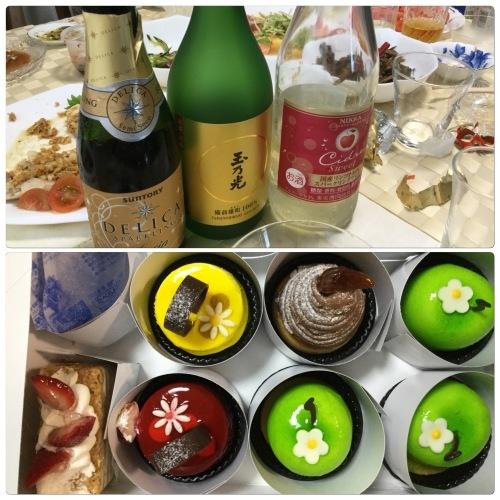 雨 & ホームパーティー & 介護_a0084343_16513673.jpeg