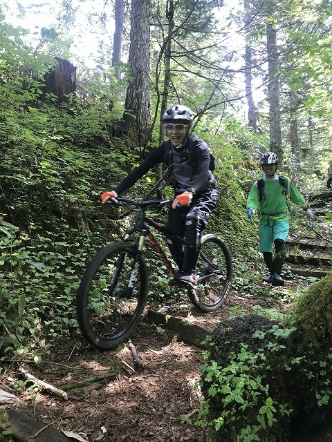 【Wild Mountain bike tour in FURANO】_b0195144_15540212.jpg