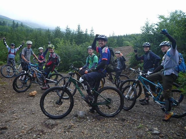 【Wild Mountain bike tour in FURANO】_b0195144_16001017.jpg