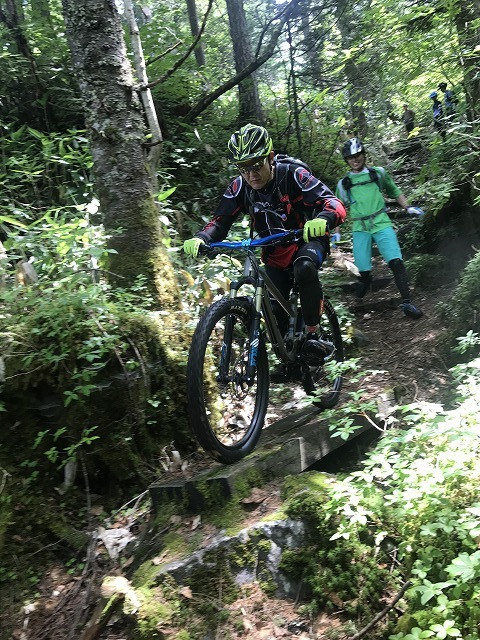 【Wild Mountain bike tour in FURANO】_b0195144_17152799.jpg