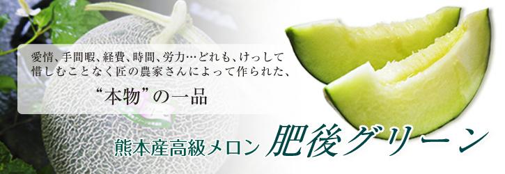 熊本産高級マスクメロン『肥後グリーン』今が旬!シャキシャキとトロトロ!2つの食感を楽しめます!_a0254656_18113657.jpg