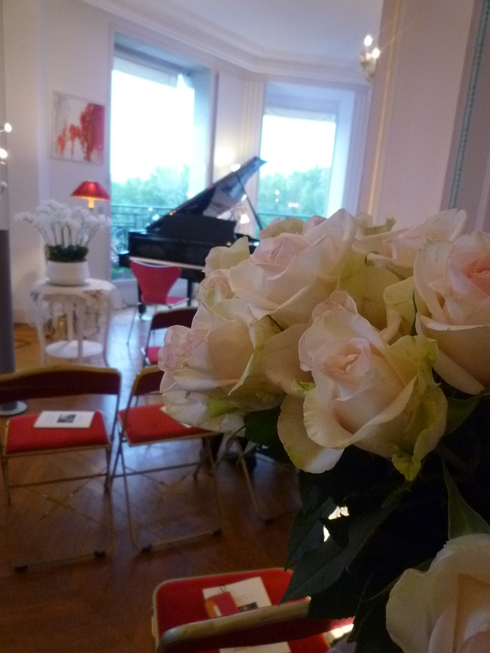 第56回パリ祭@高尾淳子省胎七宝ギャラリーオープン一周年 。。。♪•*¨*•.¸¸♪♡✝_a0053662_01535106.jpg