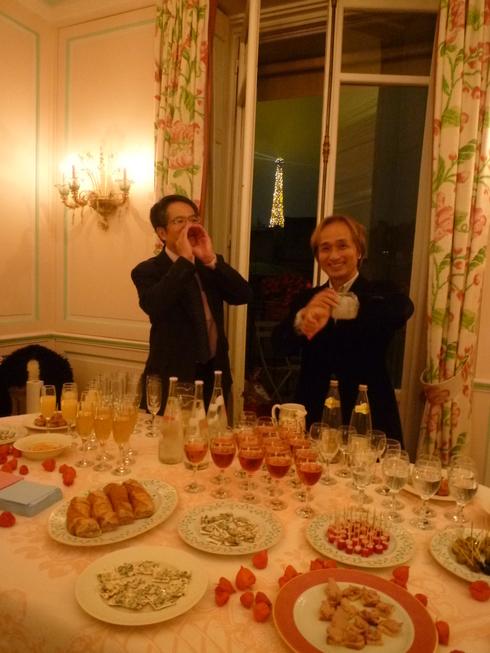 第56回パリ祭@高尾淳子省胎七宝ギャラリーオープン一周年 。。。♪•*¨*•.¸¸♪♡✝_a0053662_01580722.jpg