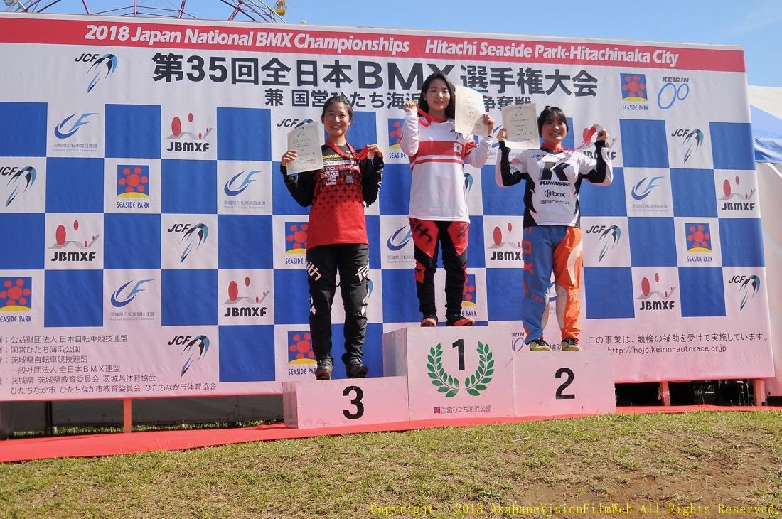 第35回全日本BMX選手権大会 ひたち海浜公園Vol2:男子JR/女子JR/エリート決勝_b0065730_21554180.jpg