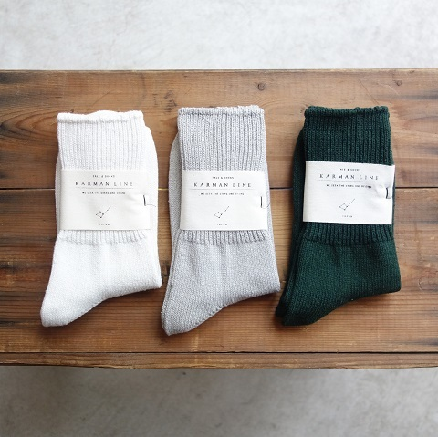 KARMAN LINE : SOCKS_a0234452_18032378.jpg