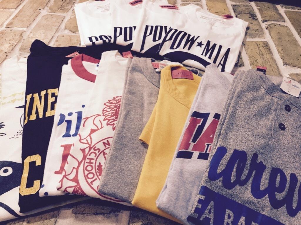 手元に置いておきたいTシャツ! (T.W.神戸店)_c0078587_21344147.jpg