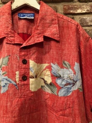 "1970s \"" O.P - OCEAN PACIFIC - \"" 60/40 - BACK CLOTH - vintage P/O SHIRTS ._d0172088_19443470.jpg"