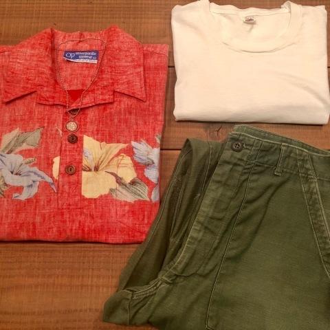 "1970s \"" O.P - OCEAN PACIFIC - \"" 60/40 - BACK CLOTH - vintage P/O SHIRTS ._d0172088_21505469.jpg"