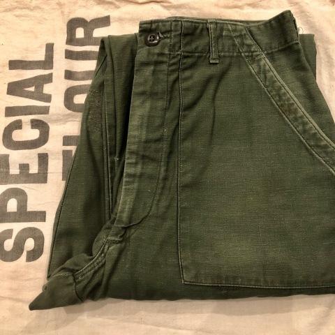 "1970s \"" O.P - OCEAN PACIFIC - \"" 60/40 - BACK CLOTH - vintage P/O SHIRTS ._d0172088_22074619.jpg"