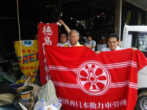 7月10日、真備町で大雨災害後の片付け支援活動をしました_d0155415_22454534.jpg