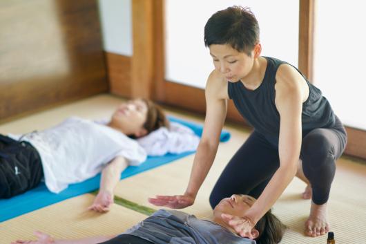 Breathing mayu yoga終了しました _a0267845_08575928.jpg