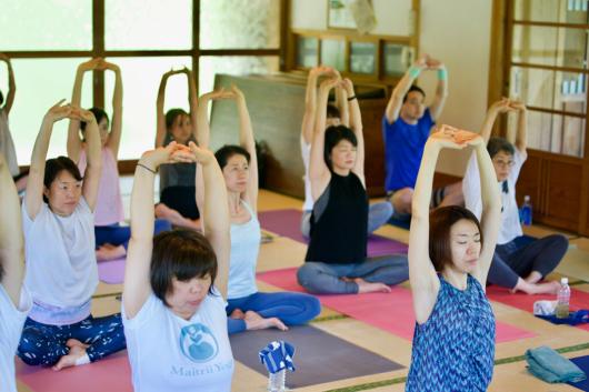 Breathing mayu yoga終了しました _a0267845_09172217.jpg