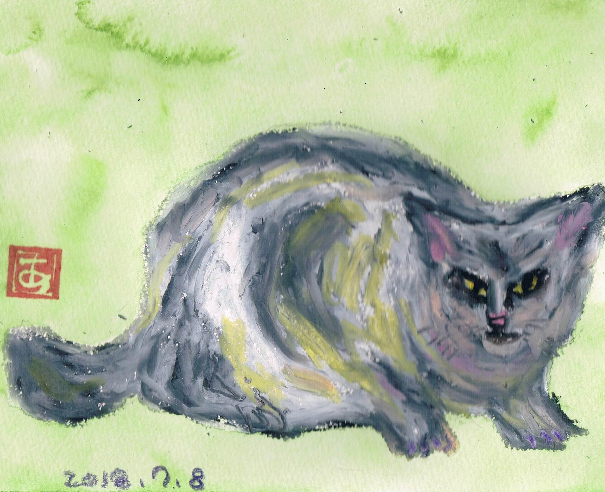 新顔の公園猫_e0232277_10571879.jpg