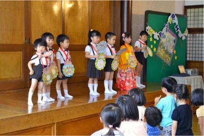 今日は、第一幼稚園のお誕生会でした_d0353789_14490181.jpg