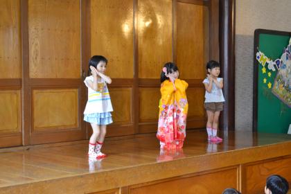 今日は、第一幼稚園のお誕生会でした_d0353789_14490820.jpg