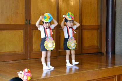 今日は、第一幼稚園のお誕生会でした_d0353789_14491601.jpg
