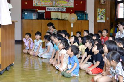 今日は、第一幼稚園のお誕生会でした_d0353789_14493159.jpg