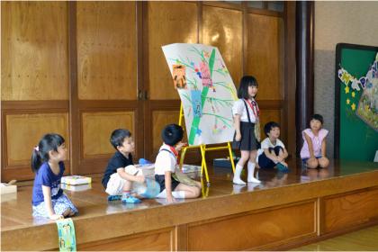 今日は、第一幼稚園のお誕生会でした_d0353789_14493980.jpg